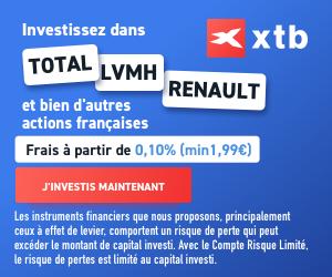 XTB. Courtier en bourse pour investir en actions
