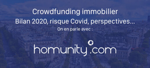 Crowdfunding immobilier bilan 2020 risque Covid performance