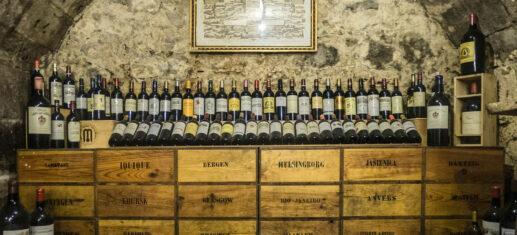 Investir dans le vin Bordeaux Bourgogne Grand cru cave